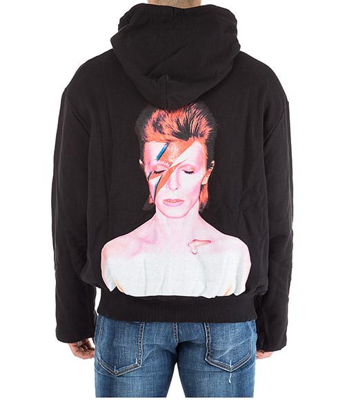 Men's hoodie sweatshirt sweat bowie flash secondary image
