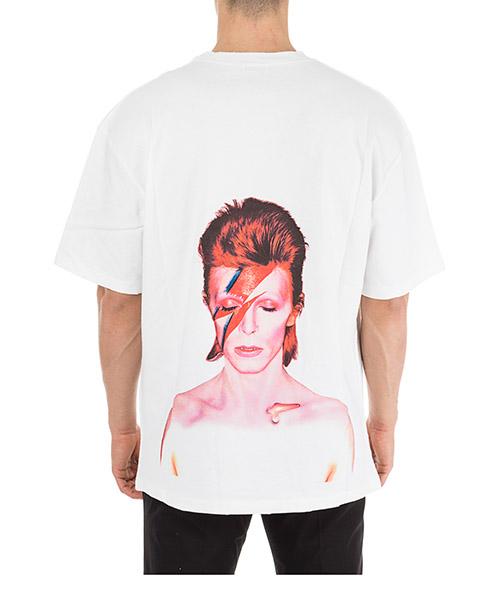 Herren t-shirt kurzarm kurzarmshirt runder kragen bowie flash secondary image