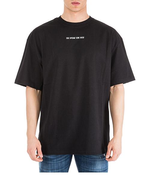 T-shirt Ih Nom Uh Nit Bowie flash NUS19213 nero