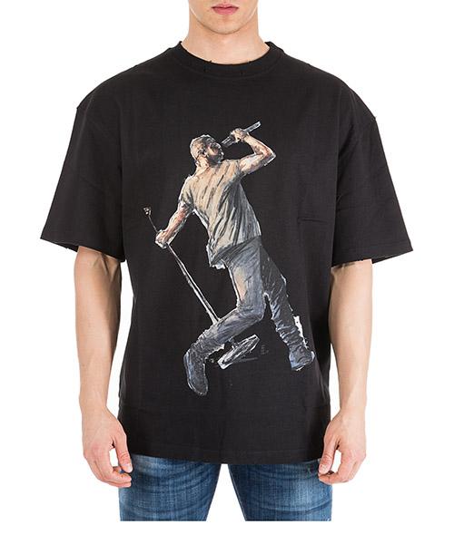 T-shirt Ih Nom Uh Nit Kanye Drake NUS19236 nero