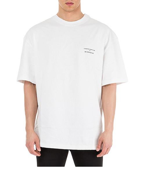 T-shirt Ih Nom Uh Nit Runway division NUS19256 bianco