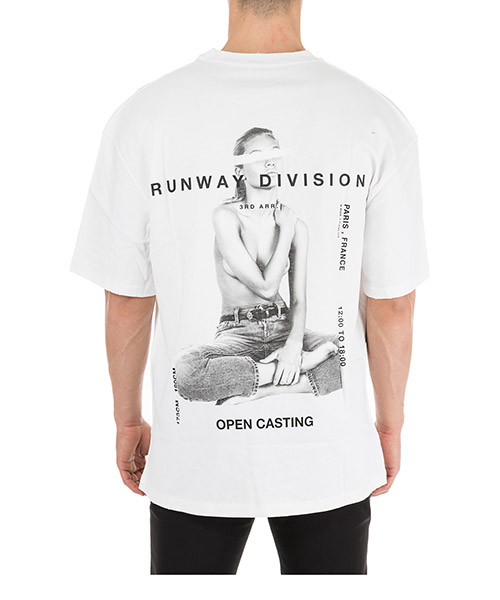 T-shirt manches courtes ras du cou homme runway division secondary image