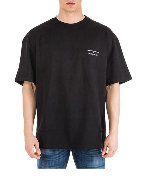 T-shirt Ih Nom Uh Nit Runway division NUS19256 nero