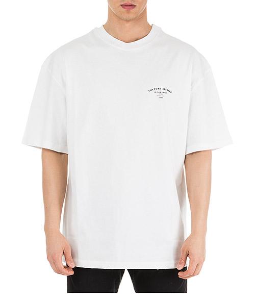 T-shirt Ih Nom Uh Nit Couture Atelier NUS19270 bianco
