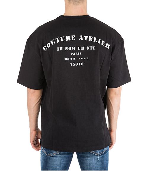 Herren t-shirt kurzarm kurzarmshirt runder kragen couture atelier secondary image