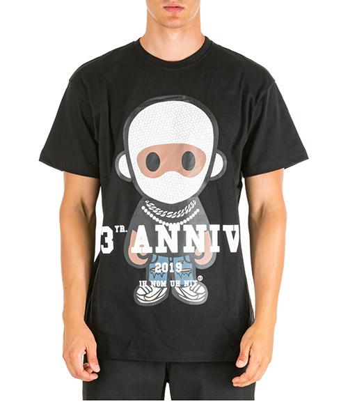 Camiseta Ih Nom Uh Nit Big Future NUW19252 nero