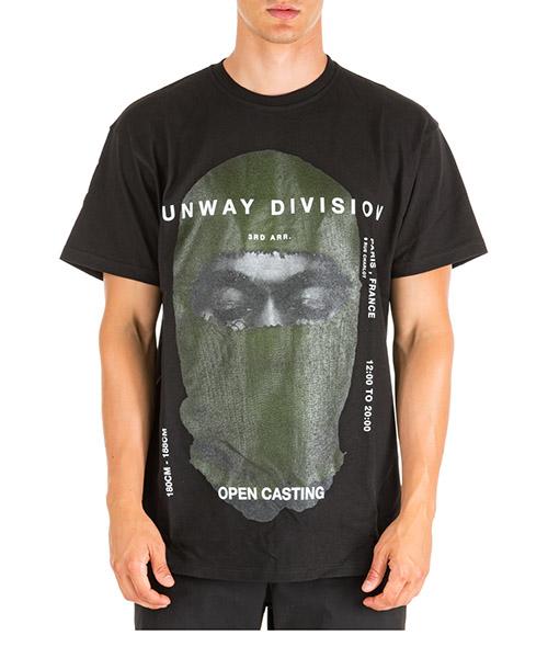 Camiseta Ih Nom Uh Nit Kanye Mask NUW19282 nero