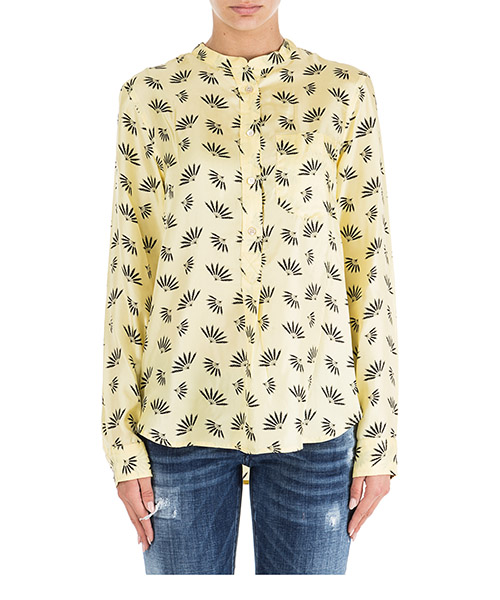 Camisa Isabel Marant Usak CH016010YW giallo