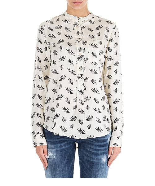 Camisa Isabel Marant Usak CH016023EC bianco