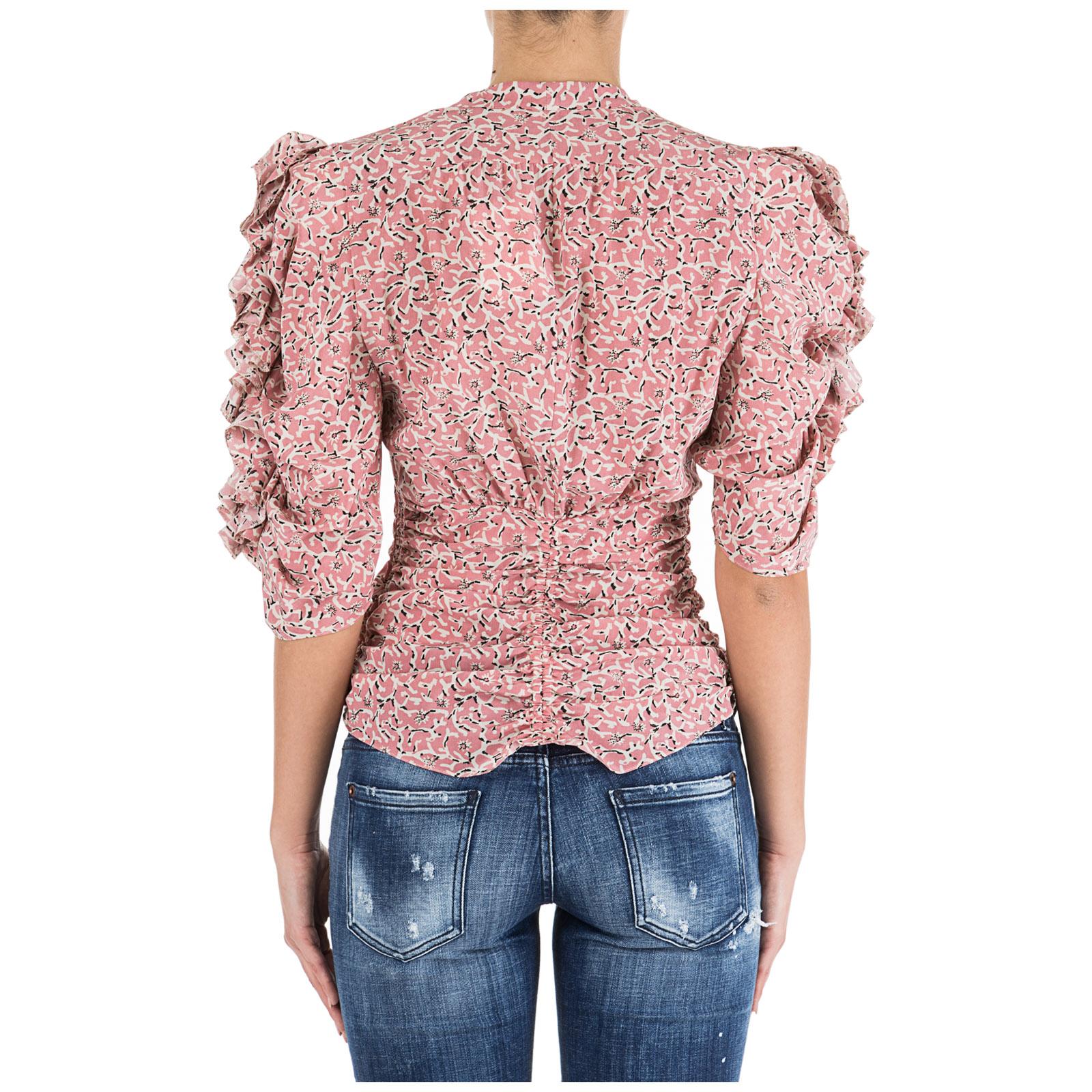 huge discount 31a72 35d7e Camicia donna maniche corte