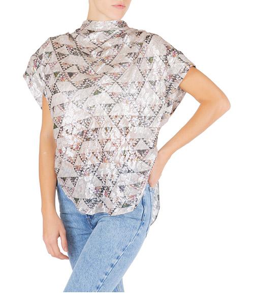 Camicia maniche corte Isabel Marant ht157823ec rosa