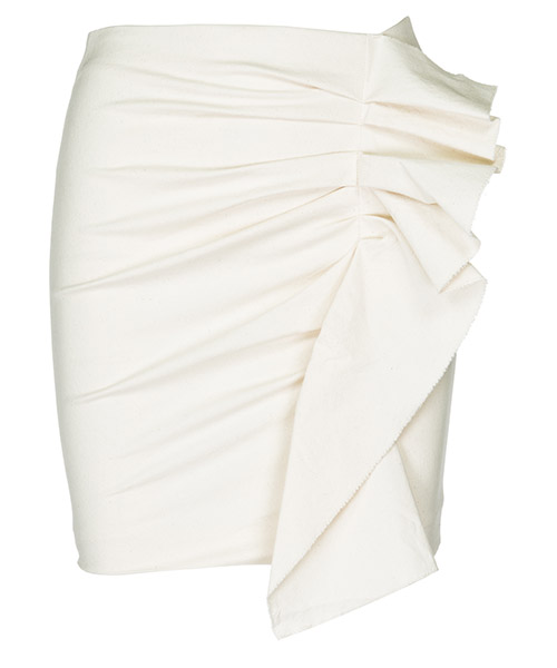 Mini skirt Isabel Marant JU084723EC bianco