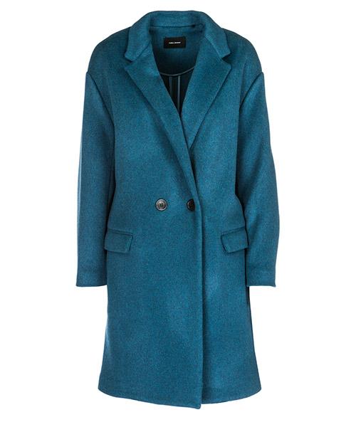 Cappotto Isabel Marant MA029102GB blu