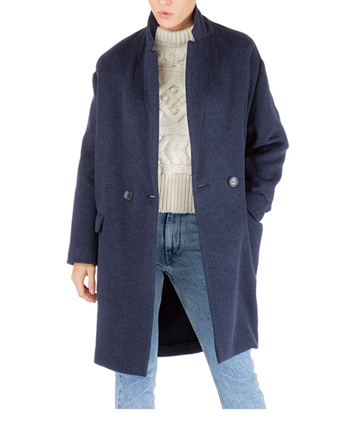 Cappotto Isabel Marant filipo ma029130na blu