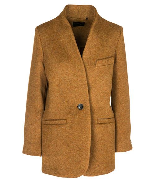Coat Isabel Marant MA037150BZ marrone