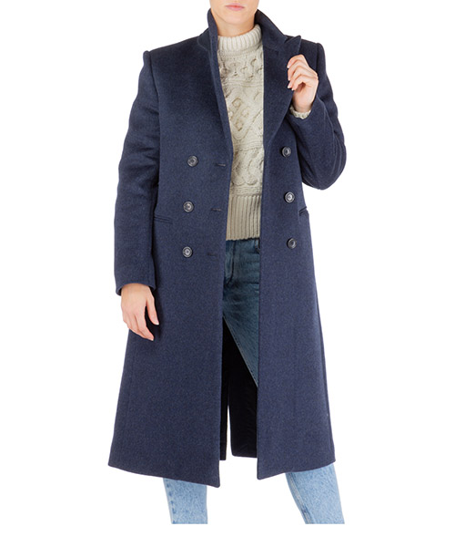 Cappotto Isabel Marant roleen ma061830na blu