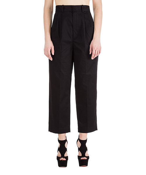 Trousers Isabel Marant PA1068 01BK nero