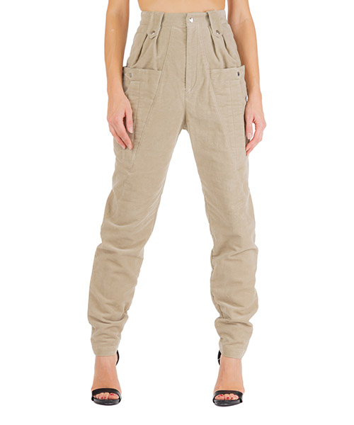 Pantalone Isabel Marant yerris pa148760ma beige