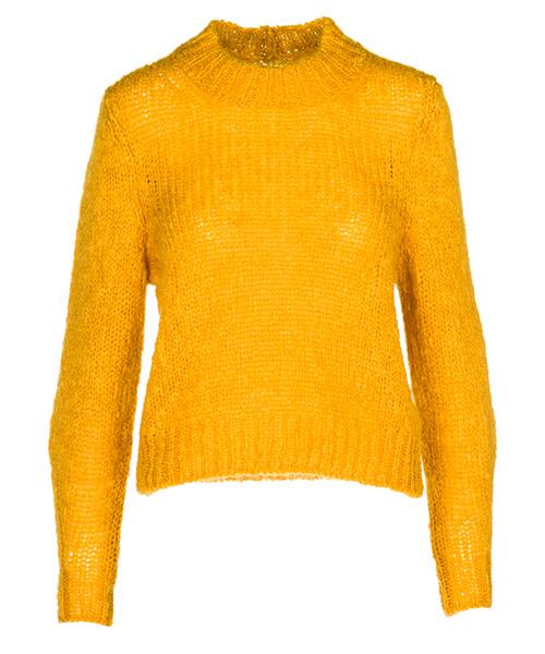 Maglione Isabel Marant PU077510YW giallo