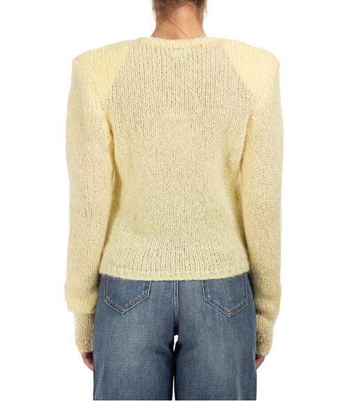 Women's jumper sweater crew neck round erin secondary image