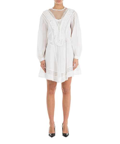 Mini dress Isabel Marant Rowina RO130420WH bianco