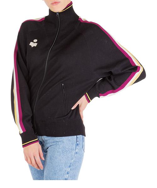 Sweatshirt mit Zip Isabel Marant Étoile CA017101BK nero