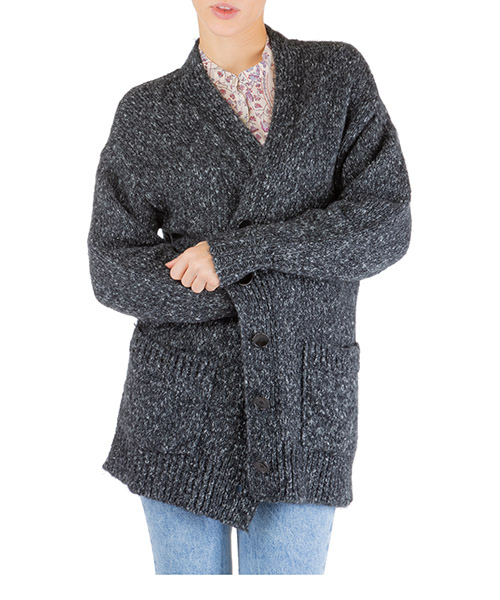 Cardigan Isabel Marant Étoile scott ca021702an grigio