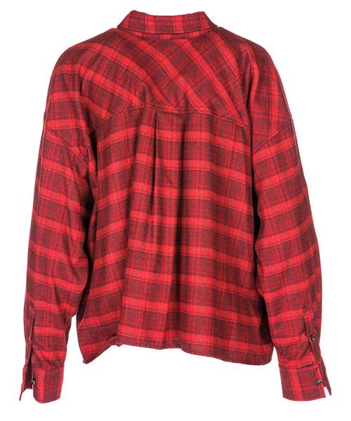 женская рубашка с длинными рукавами secondary image