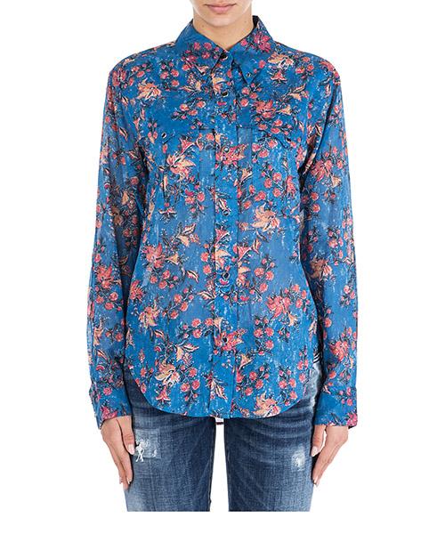 Camicia Isabel Marant Étoile Maria CH034230BU blu