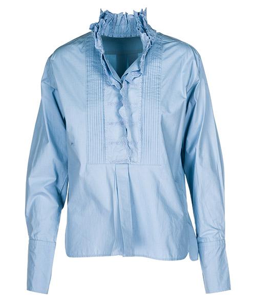 Camisa Isabel Marant Étoile HT125930LU azzurro