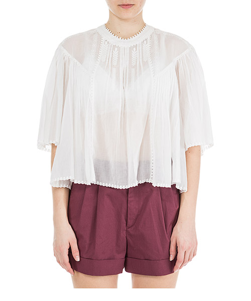 Shirt Isabel Marant Étoile Algar HT133420WH bianco