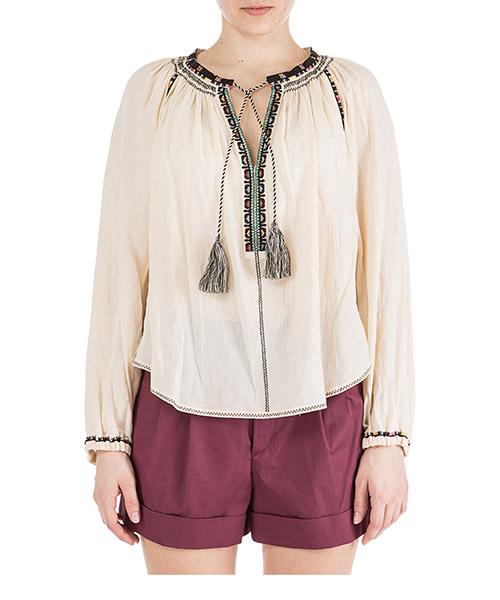 Camicia Isabel Marant Étoile Rina HT133623EC beige