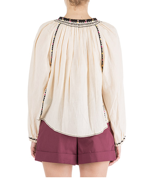 Camisa de mujer con mangas largas rina secondary image
