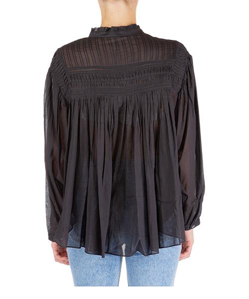Camicia donna maniche lunghe blusa lalia secondary image