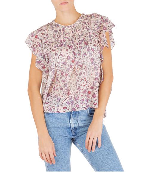 Camicia senza maniche Isabel Marant Étoile layona ht154123ec rosa