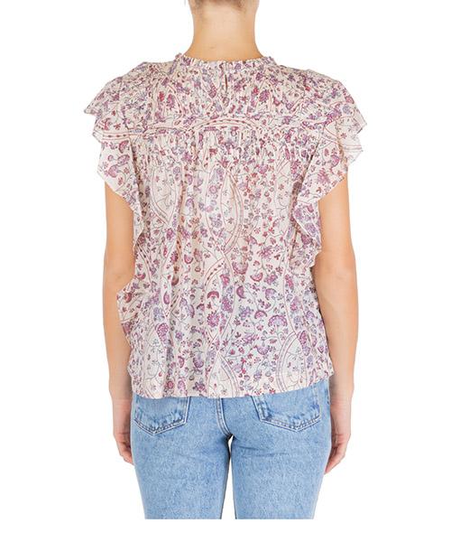 Camicia donna maniche corte blusa  layona secondary image