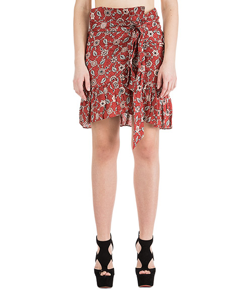 Skirt Isabel Marant Étoile Tempster JU074911RU rosso