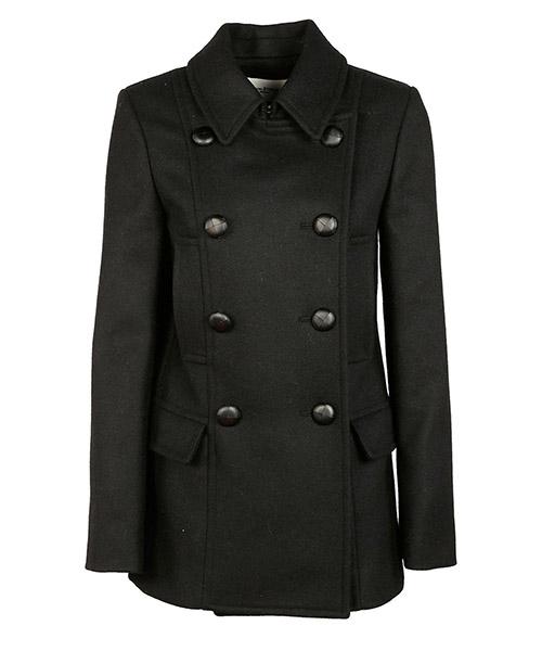 Coat Isabel Marant Étoile MA026430DM nero