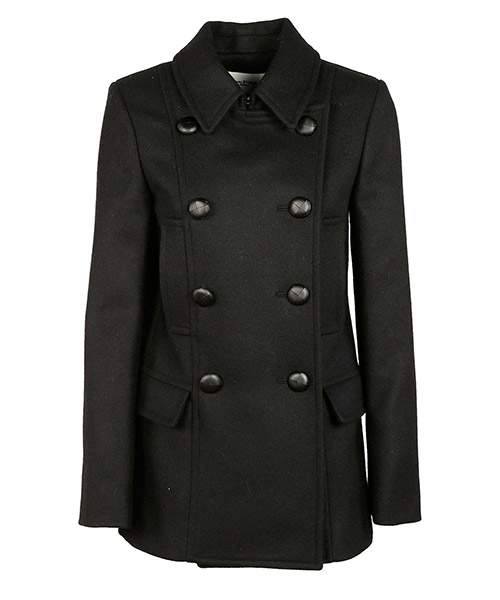 Coats Isabel Marant Étoile ma026430dm nero
