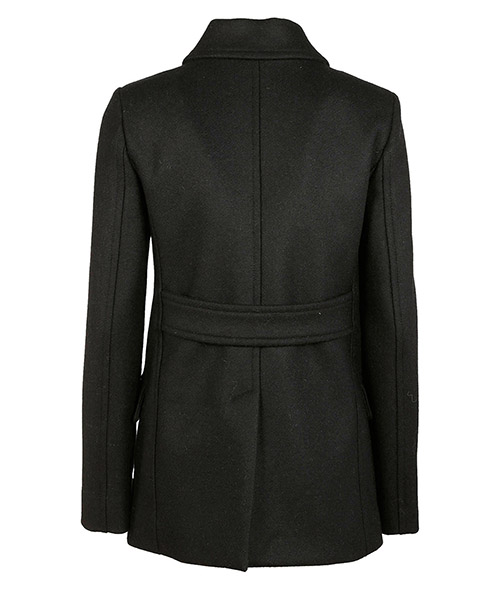 Women's double breasted coat overcoat secondary image