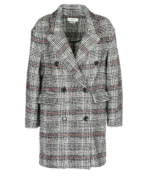 Пальто Isabel Marant Étoile MA0362BKEC grigio
