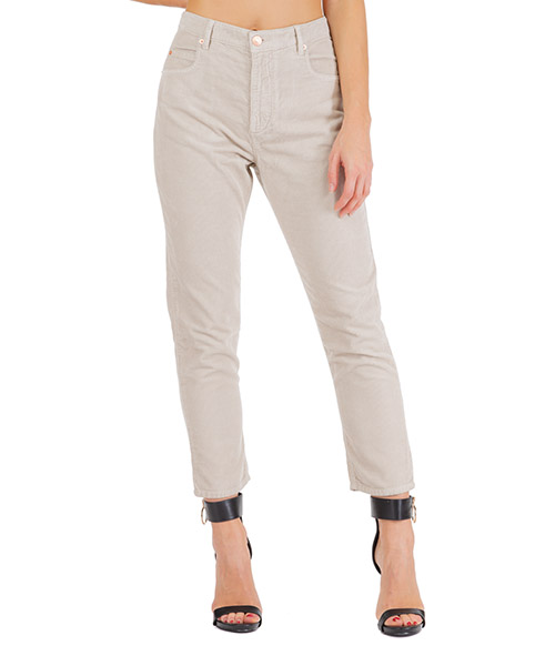 Pantalone Isabel Marant Étoile corsyv pa136890be grigio