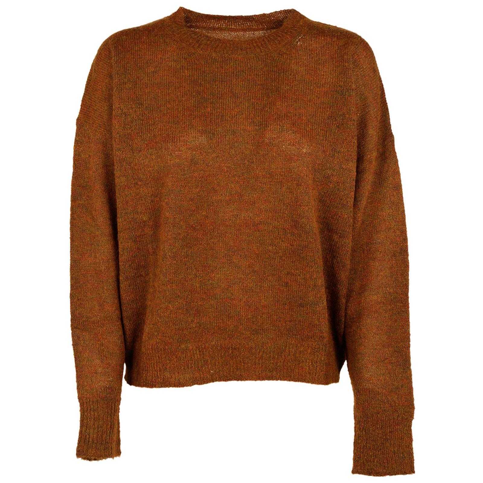Maglione maglia donna girocollo difton
