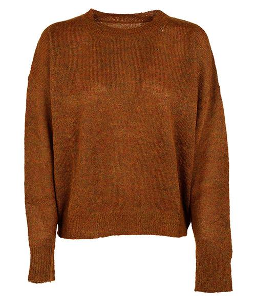 женский свитер с круглым вырезом джемпер круглый вырез difton