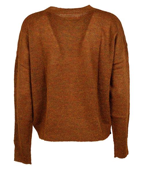 женский свитер с круглым вырезом джемпер круглый вырез difton secondary image