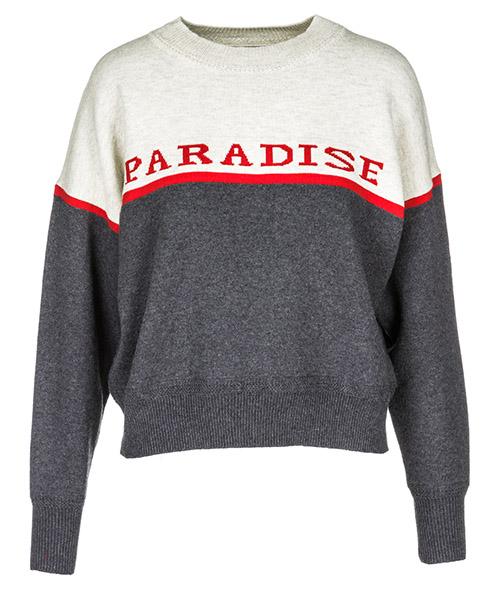 Pull Isabel Marant Étoile Paradise PU072801BK grigio