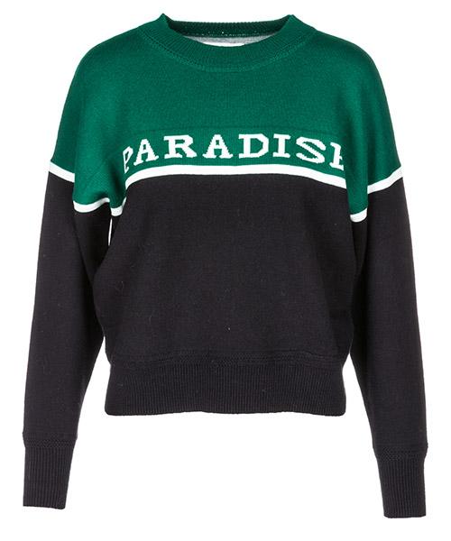 Джемпер Isabel Marant Étoile Paradise PU072802AN verde