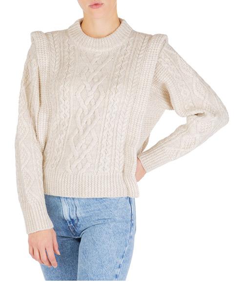 Pullover Isabel Marant Étoile tayle pu106723ec bianco