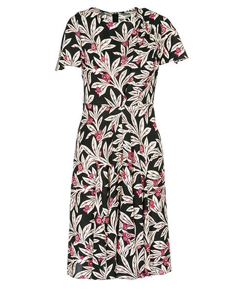 Платье длиной до колен Isabel Marant Étoile RO1167PKBK nero