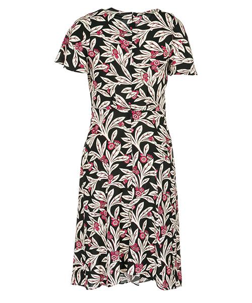 женское длиной до колен платье с коротким рукавом secondary image